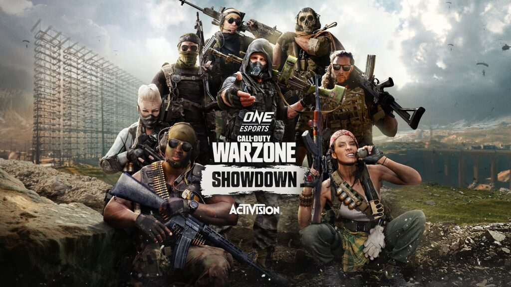 8 CELEBRITY STREAMERS WILL COMPETE IN THE ONE ESPORTS CALL OF  DUTY: WARZONE SHOWDOWN