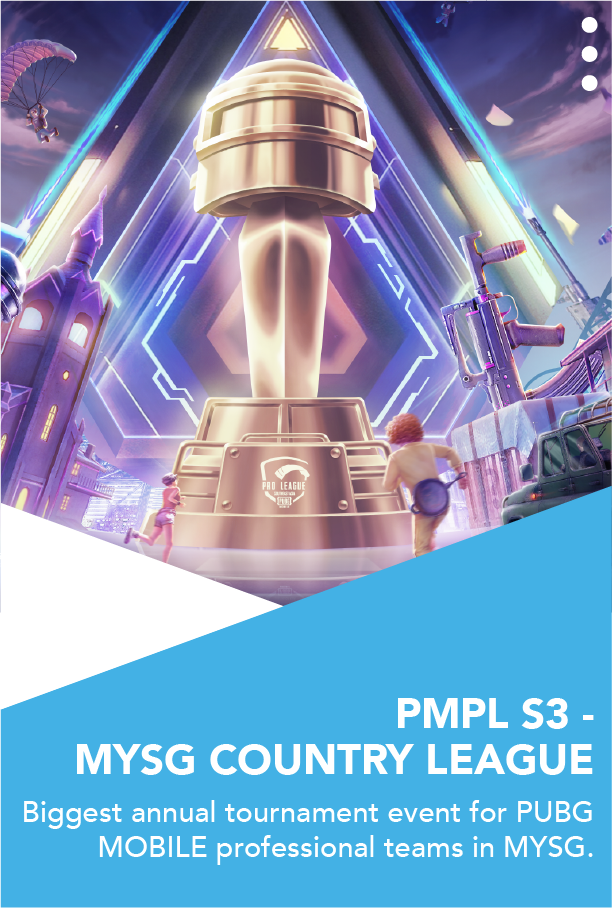 PMPL S3 - MYSG COUNTRY LEAGUE - The Gaming Company