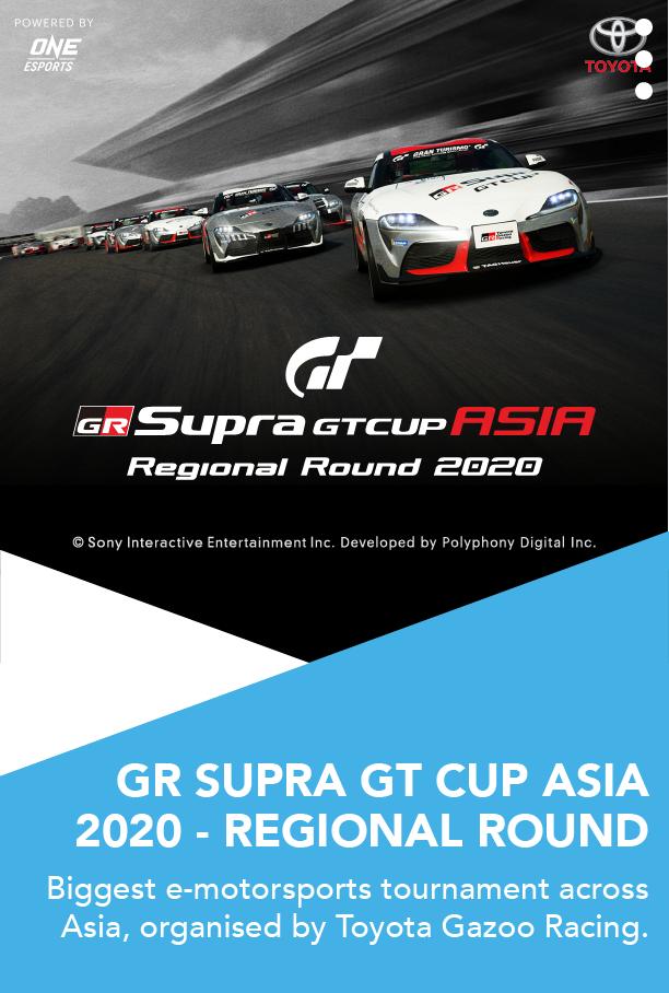 GR SUPRA GT CUP ASIA 2020 - REGIONAL ROUND